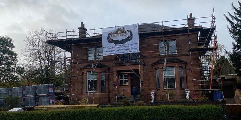 New Tiled Roofing Project in Paisley!